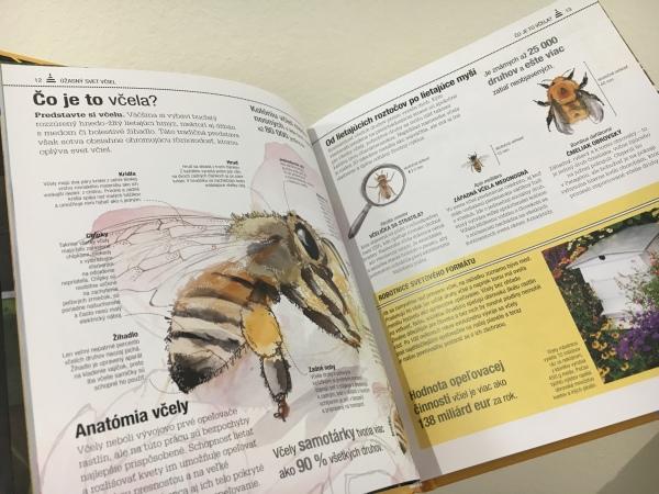 Včely, príručna pre včelára a milovníka prírody