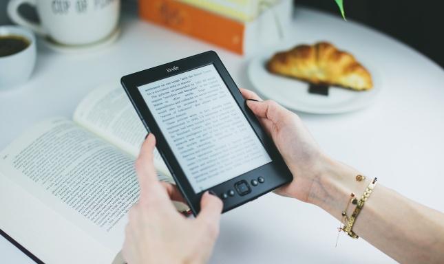 Kindle čítačka ekníh