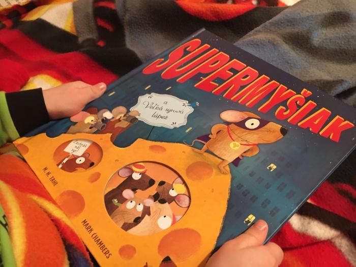 Supermyšiak a Veľká syrová lúpež