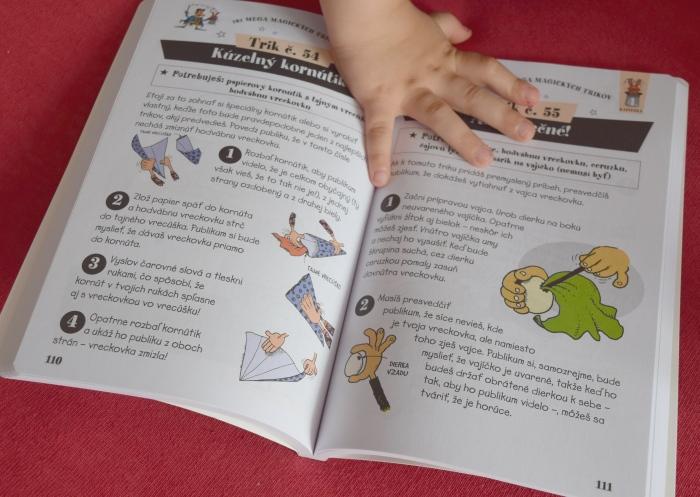 recenzia Kniha 101 mega magických trikov