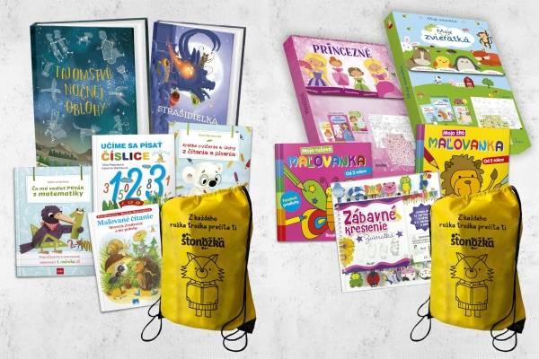 Balíčky kníh z každého rokžka troška prečíta ti Stonožka