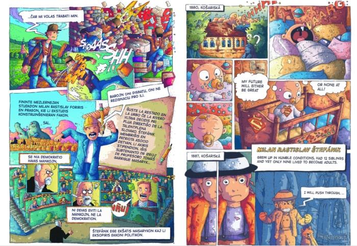 Štefánik a komiks