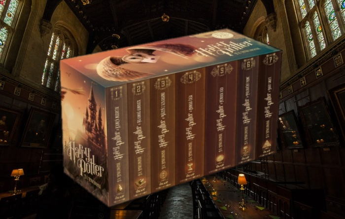 Harry Potter set 1-7