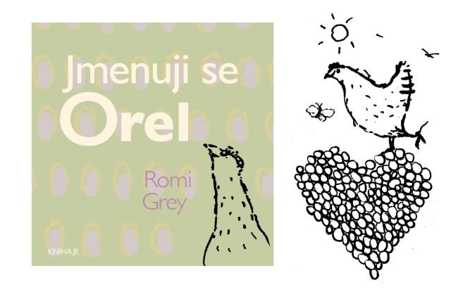 Jmenuji se orel, kniha v českom jazyku