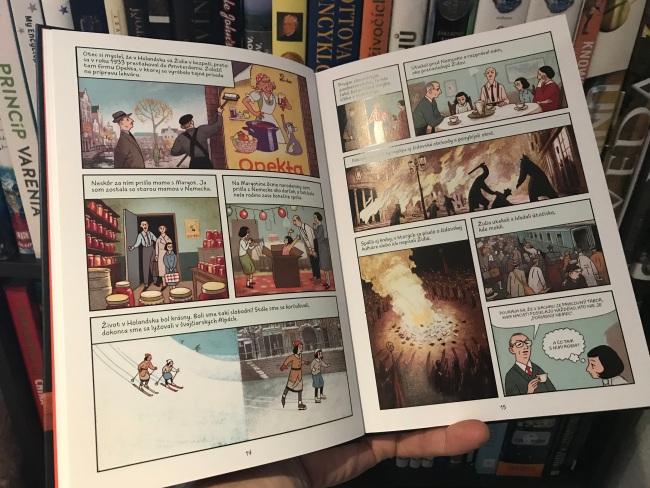 Denník Anny Frankovej v ilustrovanej podobe, KOMIKS