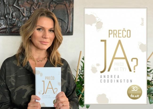 Andrea Coddington, rozhovor so spisovateľkou, kniha Prečo ja?