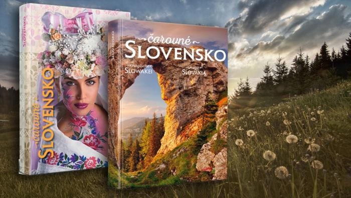 čarovné slovensko dvojitá kniha