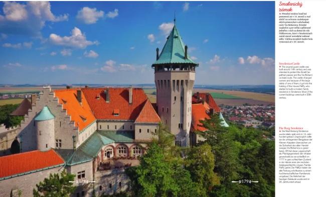 čarovné slovensko, ukážka Smolenický zámok