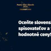 Panta Rhei Awards 2020