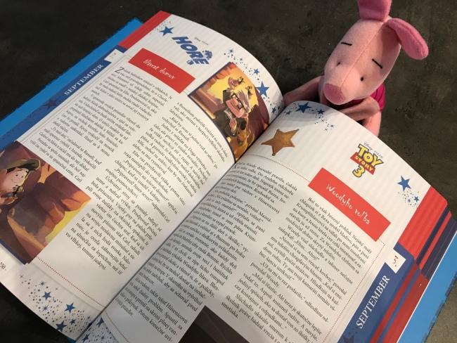 Knižka Disney Pixar - Nových 365 rozprávok do postieľky je krásna