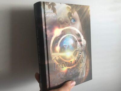 Linda a kľúč od Andary kniha a jej recenzia od Eriky