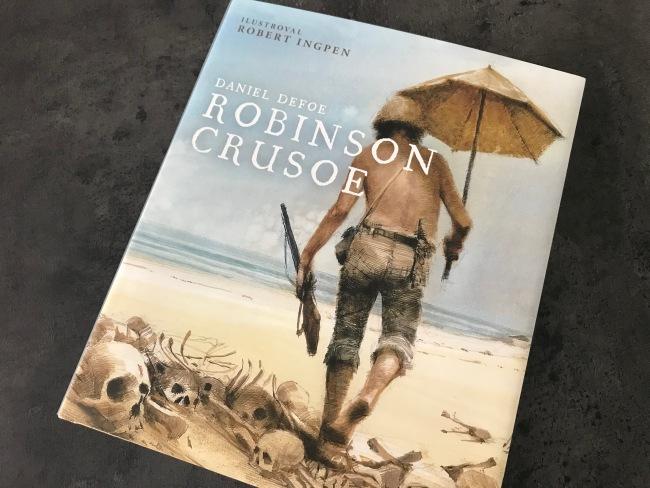 Nové vydanie knihy Robinson Crusoe